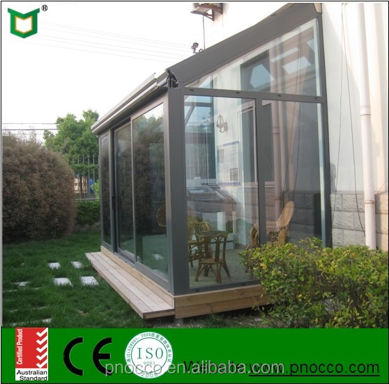Customized Aluminium Winter Garden Sun House With CE Certificate Made In China