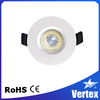 new fancy design bedroom design recessed 8W led down light changeable bezel