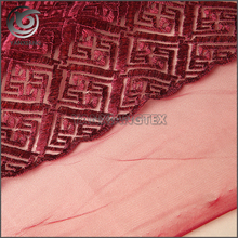 100% Polyester Custom embroidery french lace