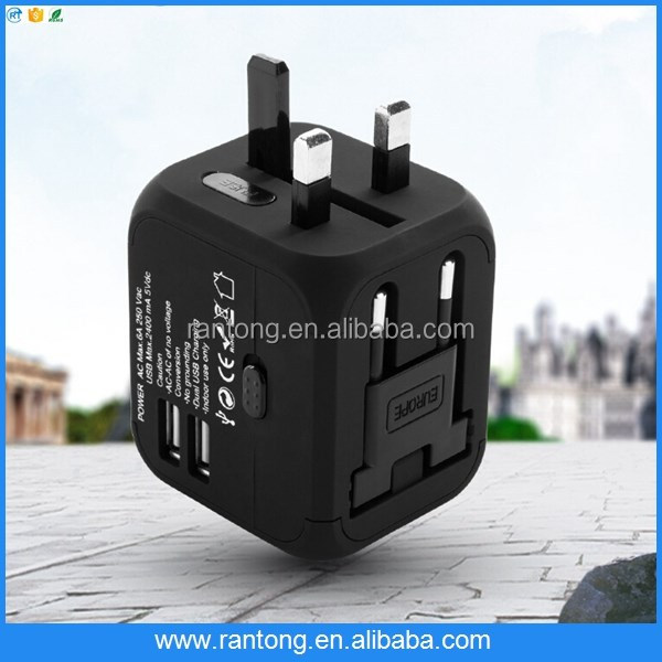 Multi function USB charger plug.travel charger for mobile phone