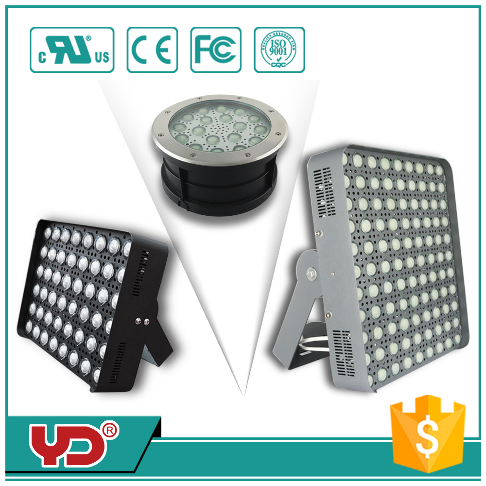 CE FCC approved IP68 waterproof high power outdoor light