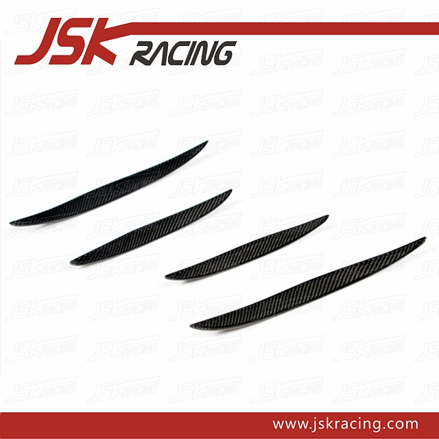 CARBON FIBER CANARDS FOR 2015-2016 AUDI A3 S-LINE S3