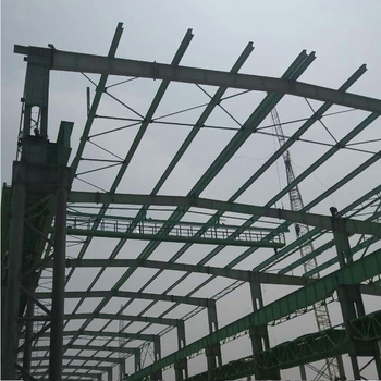 Low Cost Fast Installation H Beam Steel Structure Workshop Building