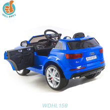 WDHL159 Best Selling Cheap Products Rc Used Kids Ride On Mini Electric Car/Motorcyles With Color Light For 10 Year Olds Parts