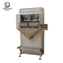 Semi - automatic melon seeds and sour goods cashew nut paddy particles packing machine
