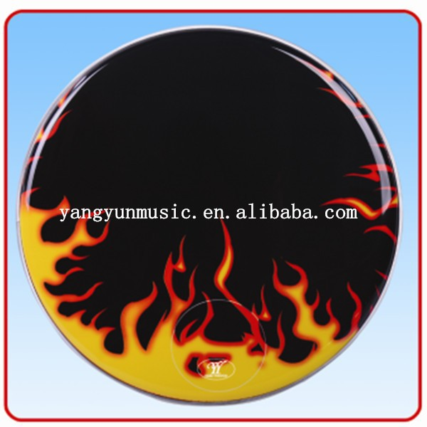 wholesale colored Musical Instruments drum head drum skin printed by customer