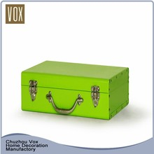 Customized metal trunk box,Square storage trunk with lock,home storage trunk