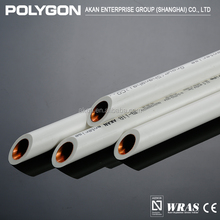 Manufacturers of water Plastic composite materials Polygon Wall Mounting Ppr Pipes