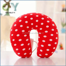 Custom new product China Gold supplier foam particle travel eco-friendly with ear hole pillow