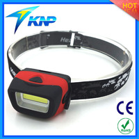 Ultra Bright Cob Led 3W 4.5V COB LED Powerful Headlamp Flashlight