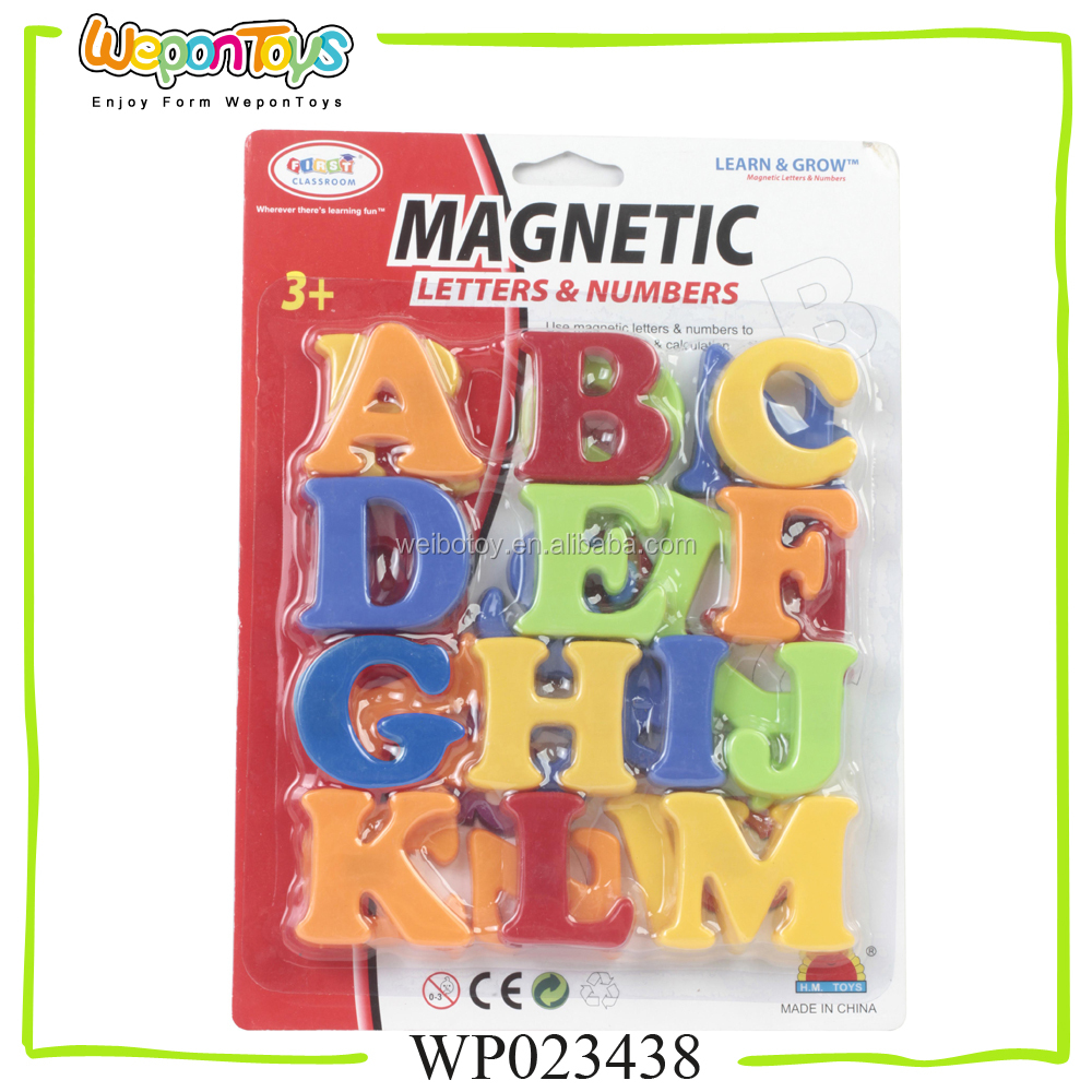 2 inch magnetic letters for kids learning plastic letter toys educational alphabet letter toys