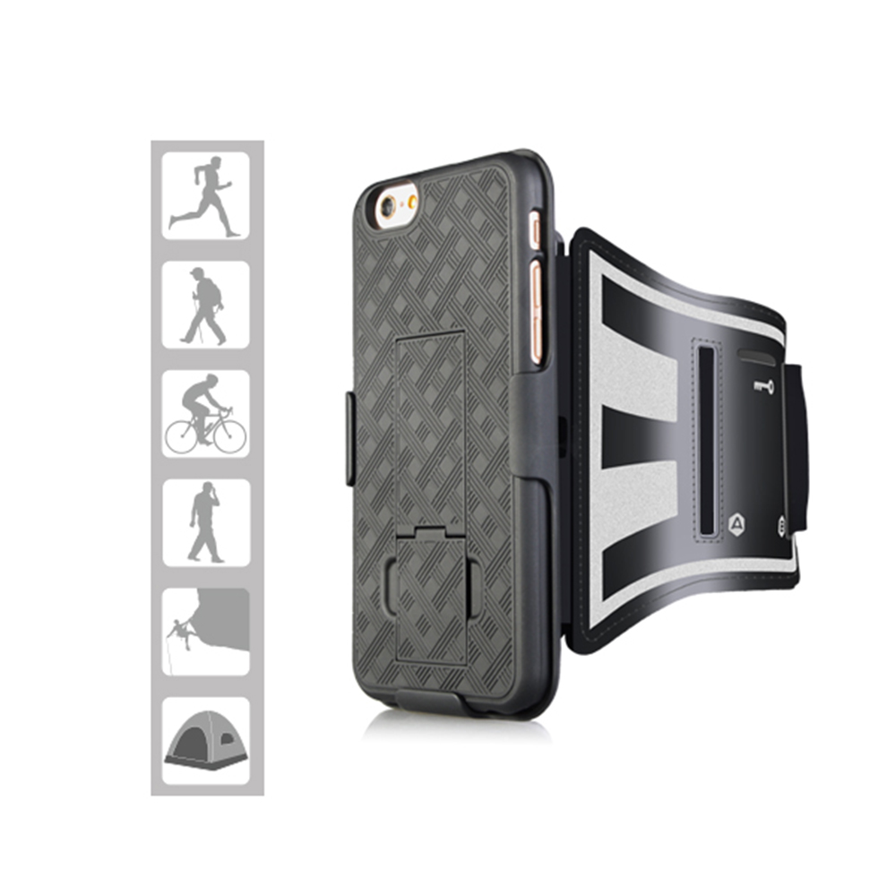 Fashion phone case style running sport armband for iphone 6 7 s8 plus