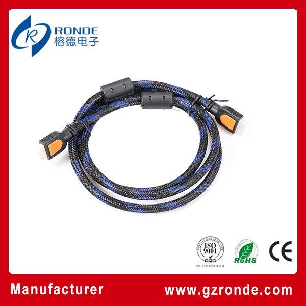 Newest Fashion Gold HDMI Cable, Mini HDMI To AV Cable