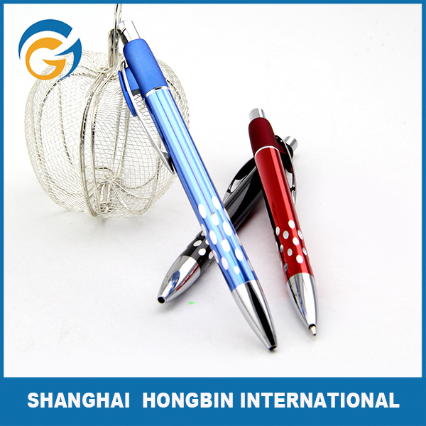 Various Styles are Accepted Anodized Aluminum Pen