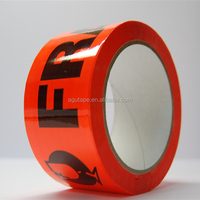 Strong Ahesive Color Transparent Printed Tape Custom Paper Tape