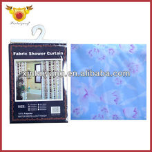 Lady Flower Printed Shower Thermal Blackout Curtains Non-toxic
