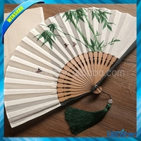 high quality professional printing hand fan for decoration