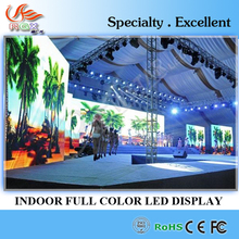 RGX hd shenzhen led display P3.91 indoor die casting cabinet stage rental LED screen