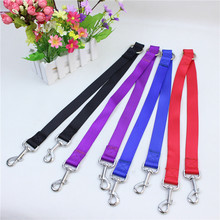New Double Multiple Dual Coupler 2 Way Nylon Dog Pet Walking Leash Puppy Leads