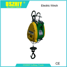 electric mini wire rope winch