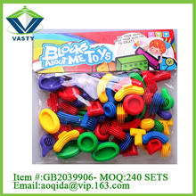 intellectual toy kazi building blocks plastic building connector toys