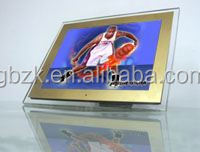 fashional bluetooth wifi digital photo frame,greeting card 12inch digital photo frame,soft pvc rubber photoframe