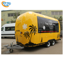 Mobile Ice Cream Van Mobile Fried Chicken Cart Food Trailers For Sale In Europe