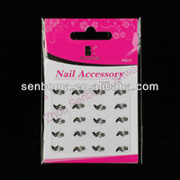 2013 Newly 3d Nail Decals Stickers Star design