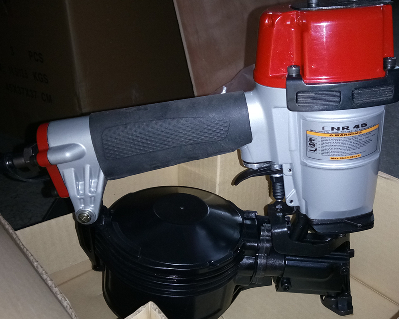 30 Years Manufacturers Dongya Tools CNR45 Quality Pneumatic Coil Roofing Nailer Gun