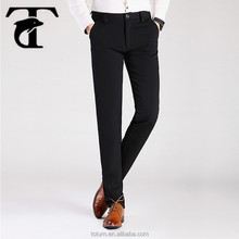 wholesale cheap price good material 100% cotton formal long pants men trousers with xxxl