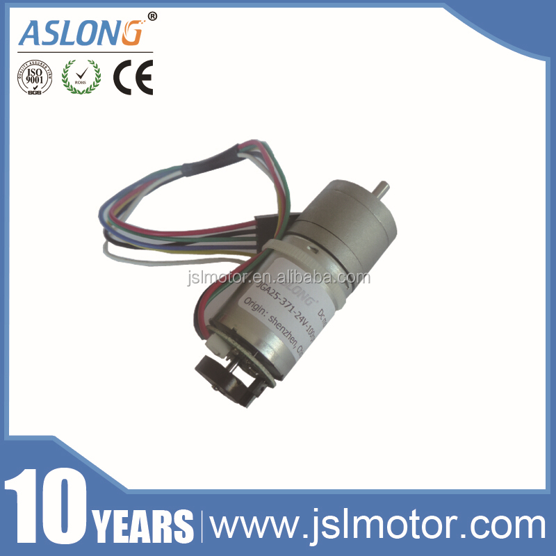 Mini High Torque 12v Dc Servo Motor Encoder with Gearbox Dc Electric Motor