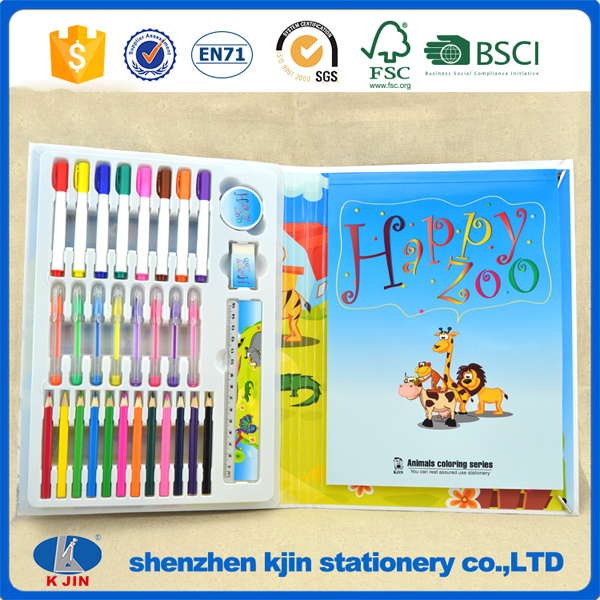 wholesale 2016 new design DIY art drawing stationery gift set