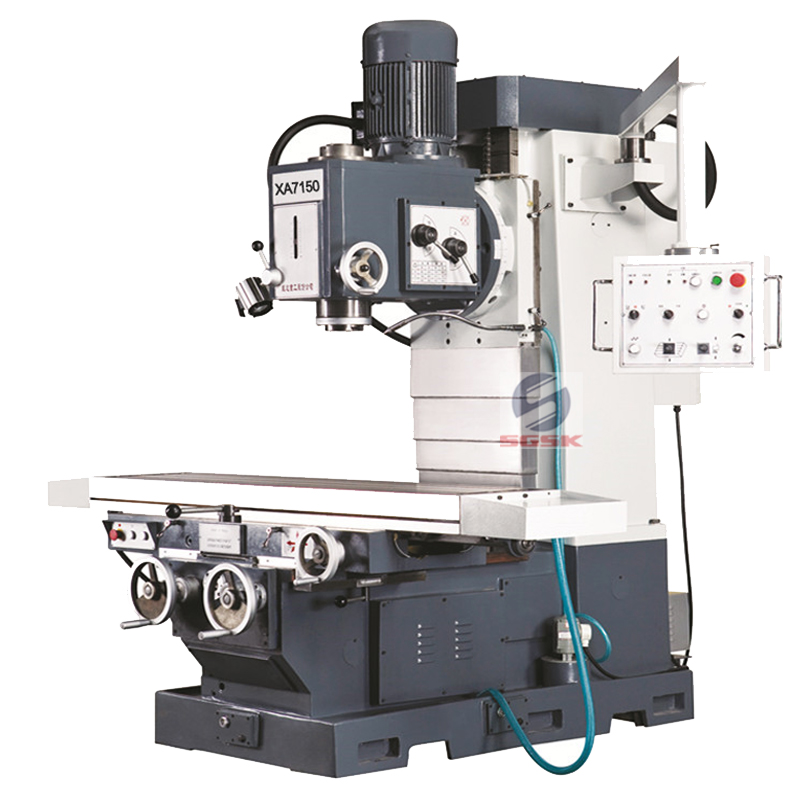 Milling machine for sale XA7150 manual milling machine brands