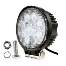 direct buy china 27w Aluminum 4 inch led motorcycle headlight for duty tractor