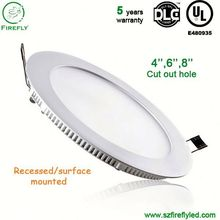 High power dimmable dimming round led ceiling panel light CCT adjustable