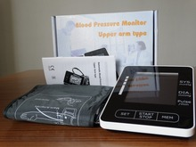 electronic standing wrist tech blood pressure monitor