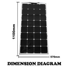 Solar Panel Backsheet 100w Sunpower Flexible Solar Panel