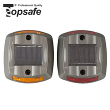 High Brightness Colored Cat Eye Aluminum Solar Road Stud For Security
