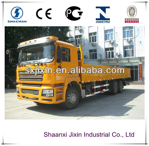 China shacman 6x4 mini van cargo truck