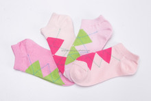women Argyle custom teenage ankle sport socks