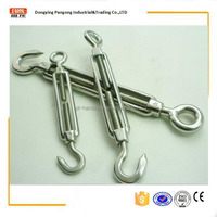 stainless steel european type turnbuckle hook&eye european type precision cast