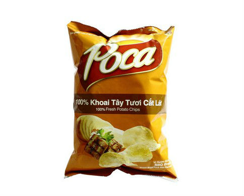 Poca 100% Fresh Potato Chips Snack