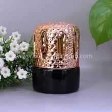 New Design Fragrance Lamp Ceramic Scented Oil Lamp With Wick Stone For Wholesale