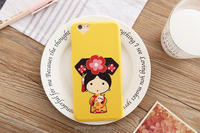 Factory silicone phone case/cute cartoon phone case for Iphone 5 5s