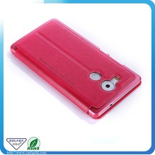 Sublimation Leather Phone Case With View Window For Huawei