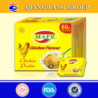 High quality tasty QWOK brands chicken cube stock cube