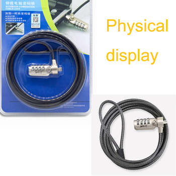 Laptop Notebook Desktop Computer Password Cable Lock
