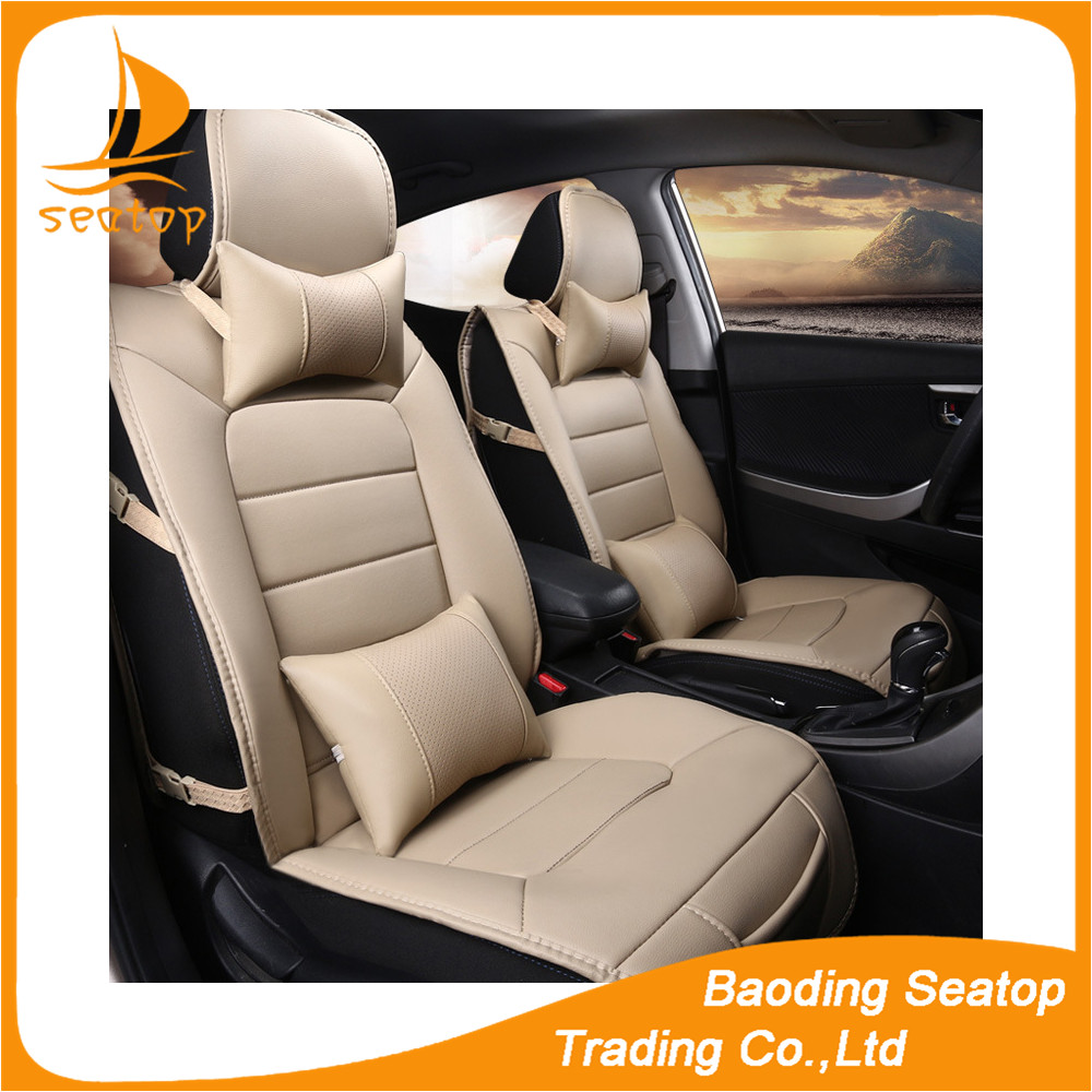 Luxury universal fit pu leather car seat cover for all most cars in the world