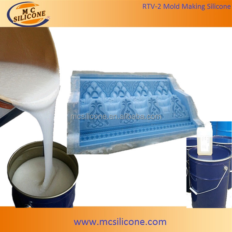 RTV silicone rubber for molding GRC building decoration products