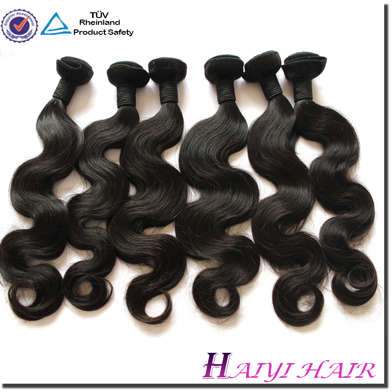 Virgin Hair in StocK nature girl hair weave